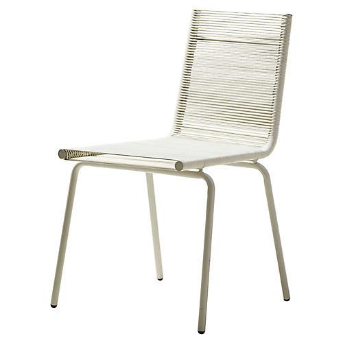 Sidd Side Chair, White