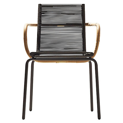 Sidd Armchair, Brown