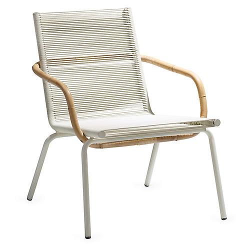 Sidd Club Chair, White
