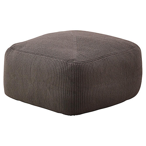 Divine Pouf, Brown