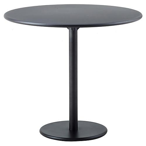 Go Café Bistro Table, Lava Gray