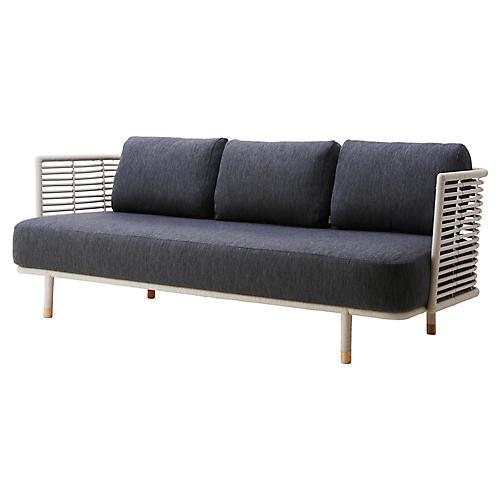 Sense Sofa, Dark Gray Sunbrella