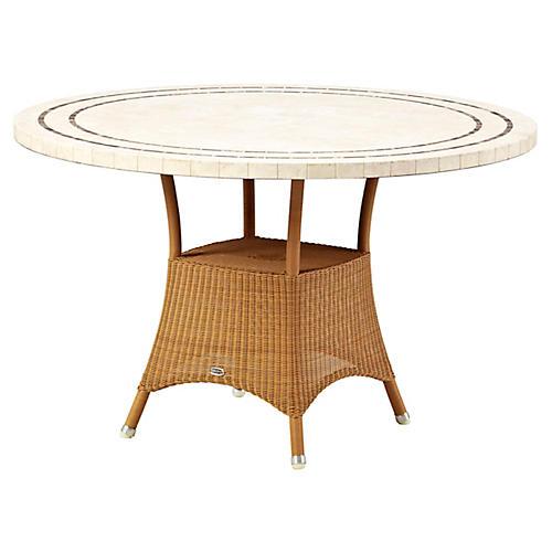 Lansing Dining Table Base, Natural