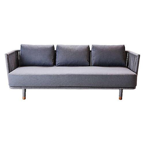 Moments Sofa, Gray