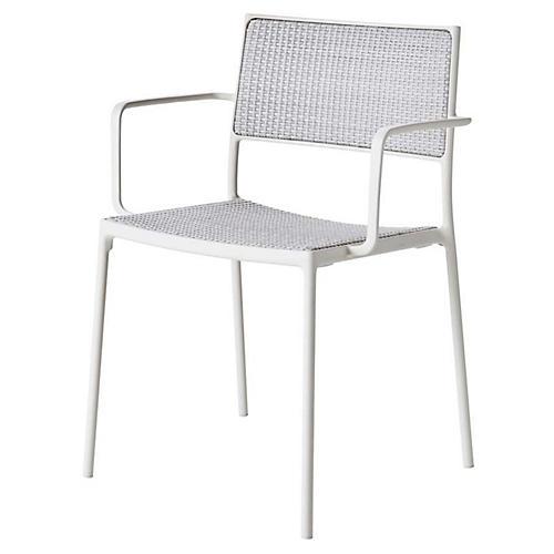 Less Armchair, White