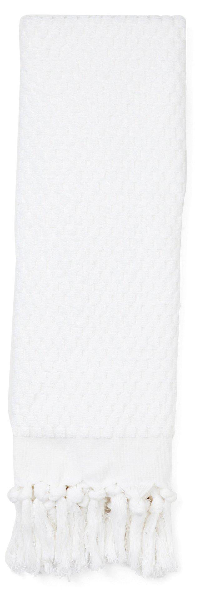 Turkish Hand Towel, White
