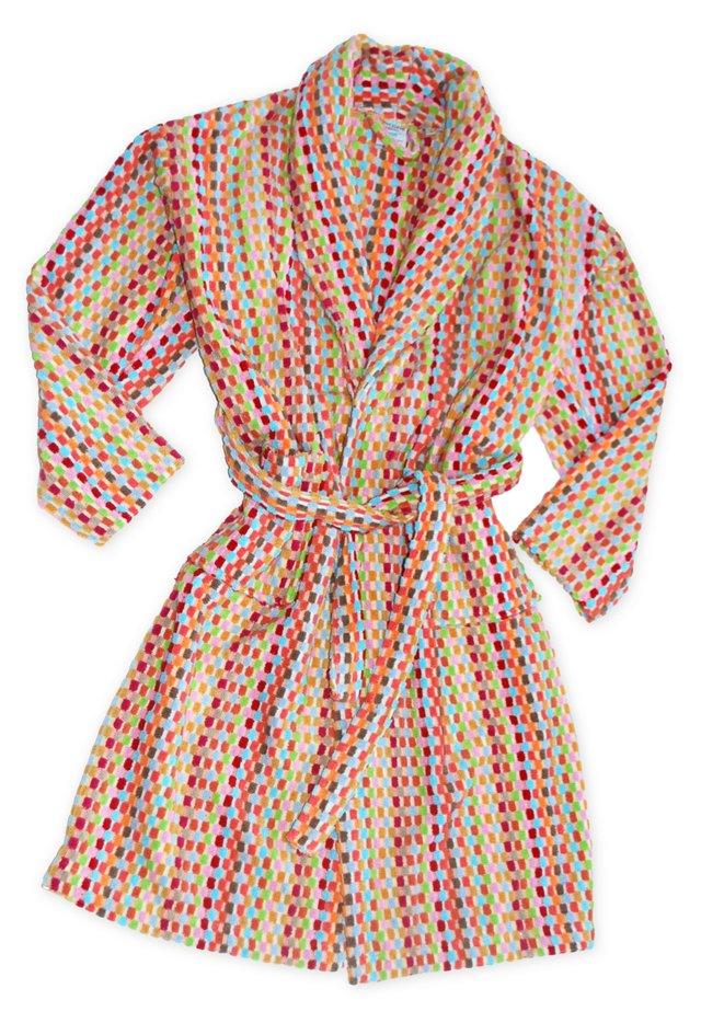 L/XL Turkish Robe, Pinks