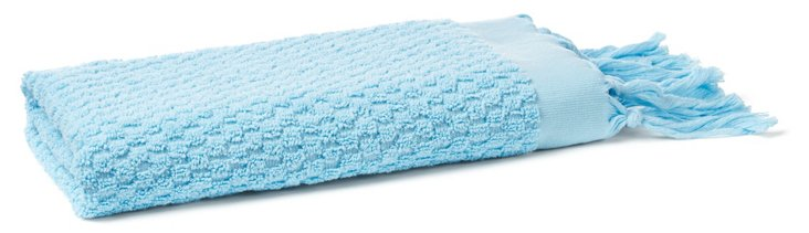 Turkish Hand Towel, Turquoise