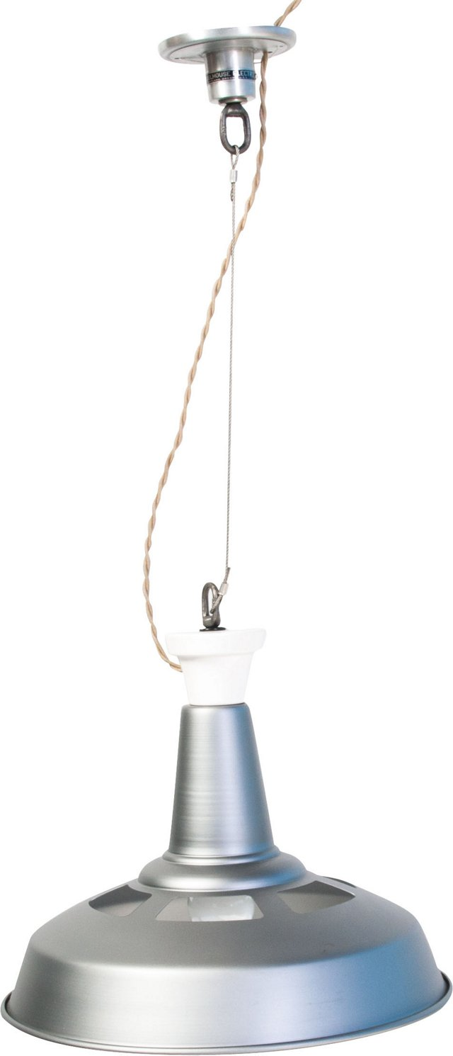 Gray Factory Ceiling Pendant