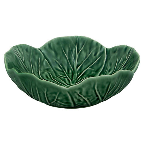 Cabbage Cereal Bowl, Green