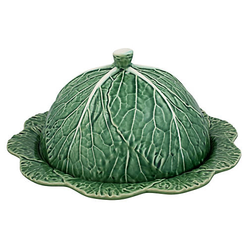 Cabbage Cheese Tray, Green