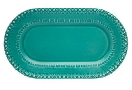 Fantasy Platter, Turquoise
