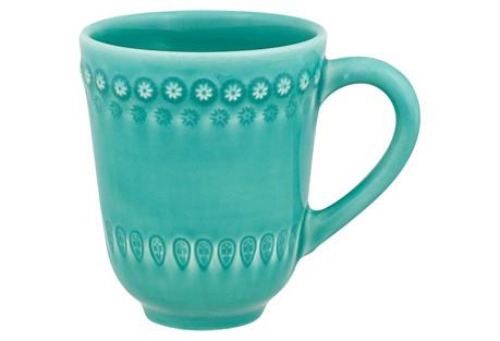 Fantasy Mug, Turquoise