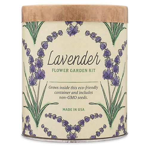 Waxed Planter Grow Kit, Lavender