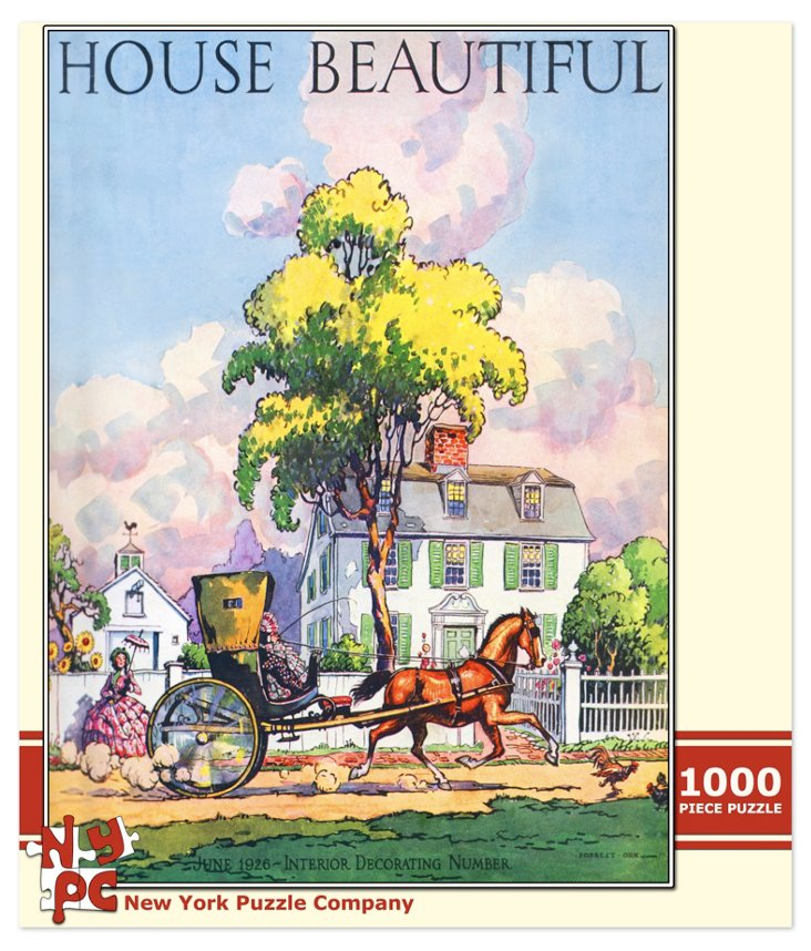 Country Home Puzzle