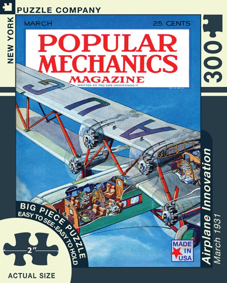 Airplane Innovation Jigsaw Puzzle