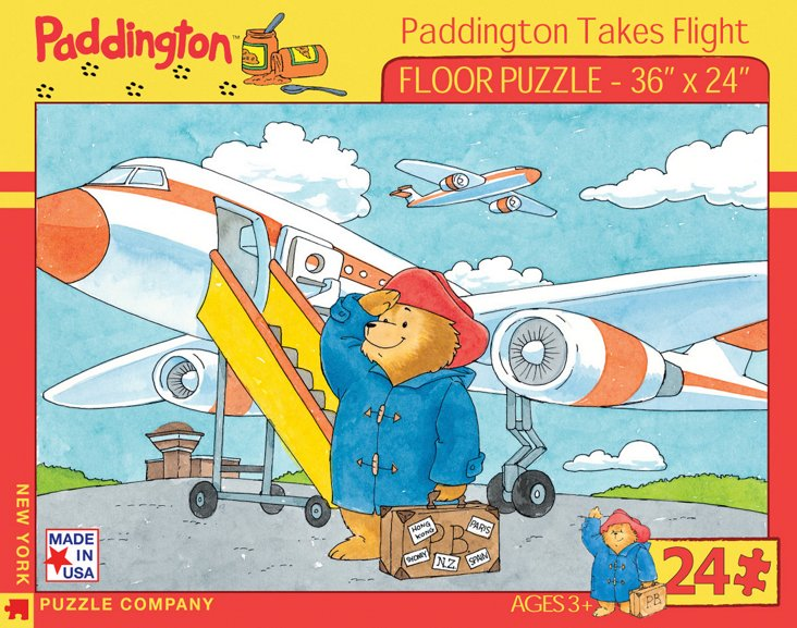 Paddington Takes Flight Puzzle