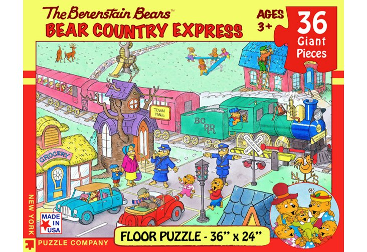 Bear Country Express Puzzle