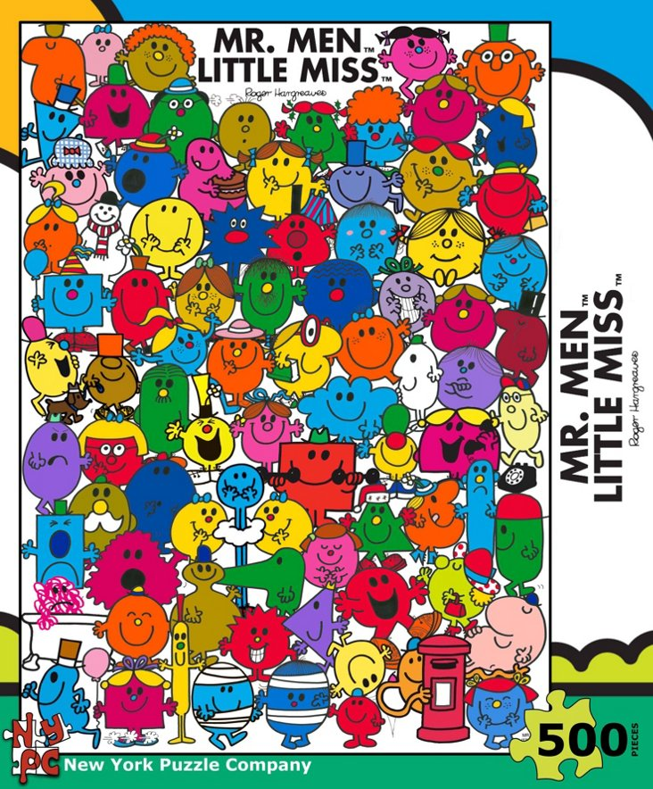 Mister Men Little Miss Puzzle