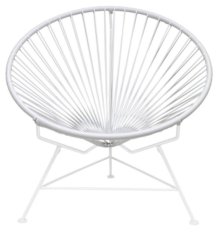 Innit Chair, White/White