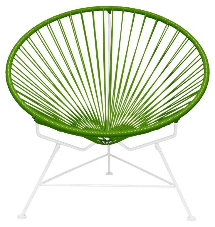 Innit Chair, White/Green