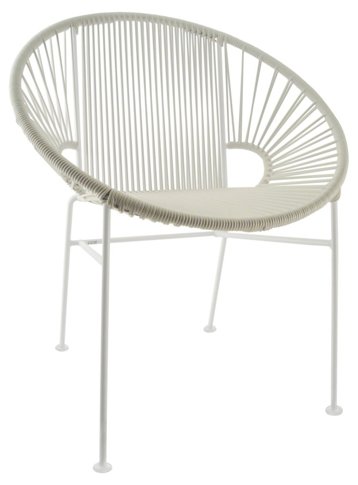 Concha Chair, White