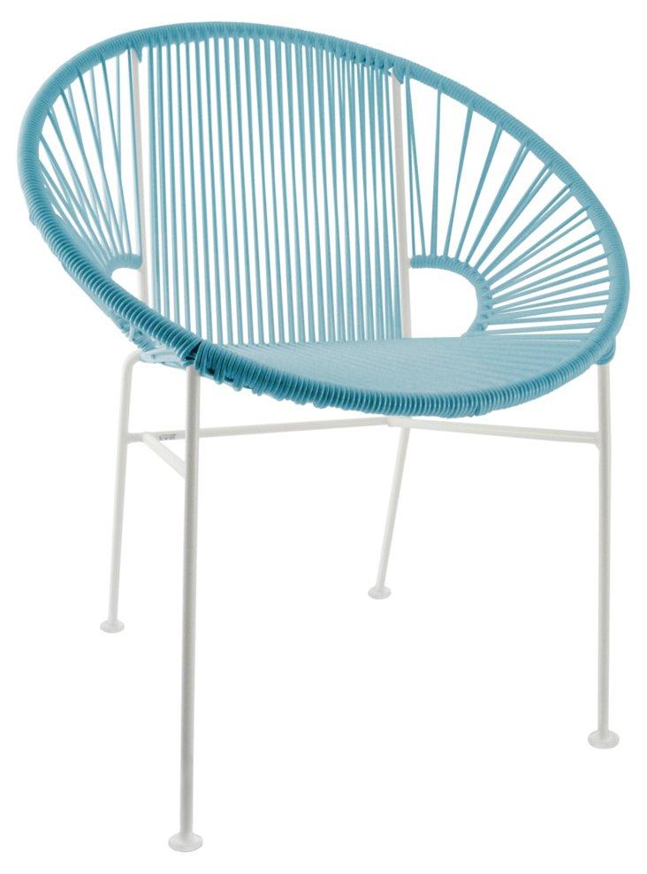 Concha Chair, Blue