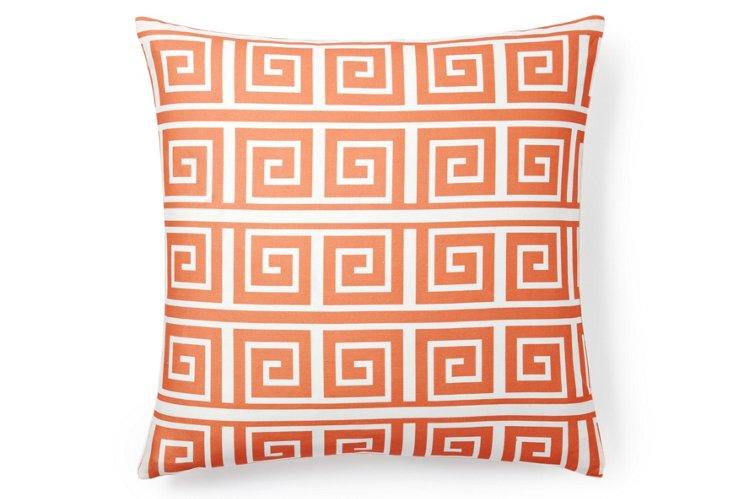 Kuba 20x20 Pillow, Coral