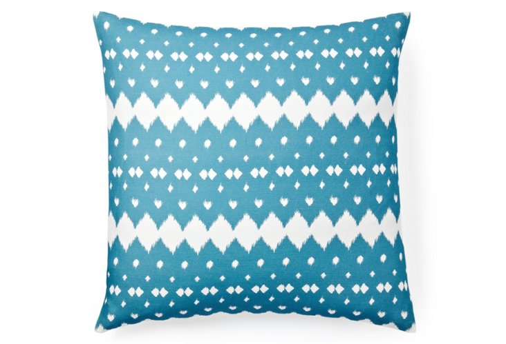 Lattice 20x20 Pillow, Mist