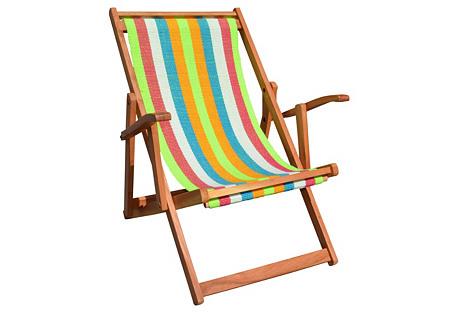 Wanderlust Chair, Hamptonian Multi