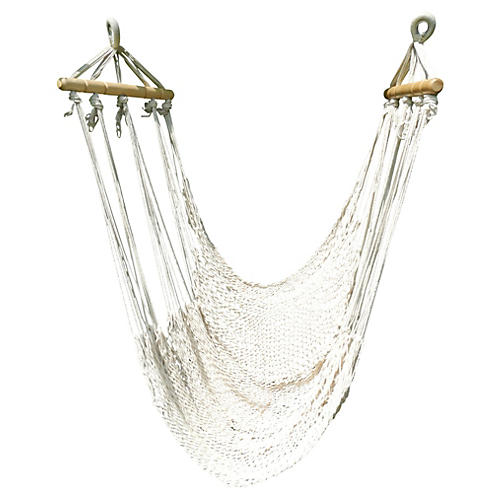 Swinging Hammock Lounger, Sand