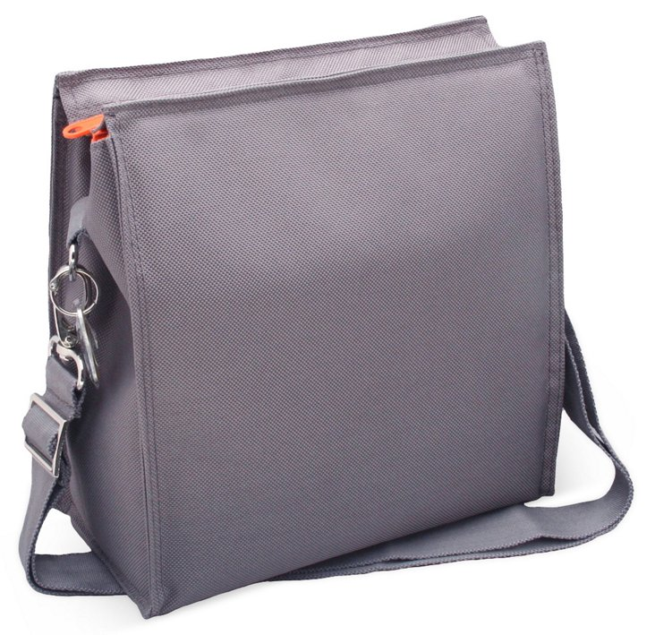 Insulated Lunch Tote, Slate