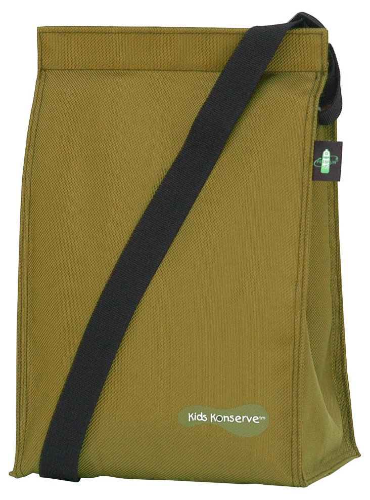 Insulated Lunch Sack, Moss