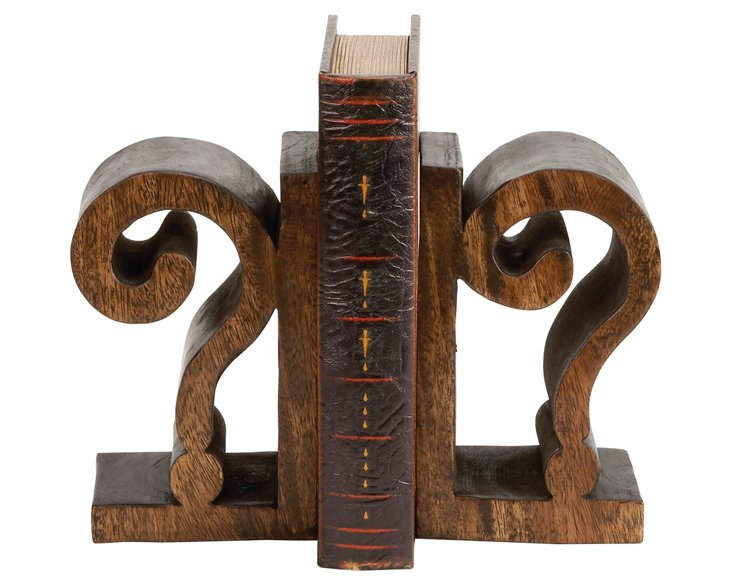 Pair of Question Mark Bookends