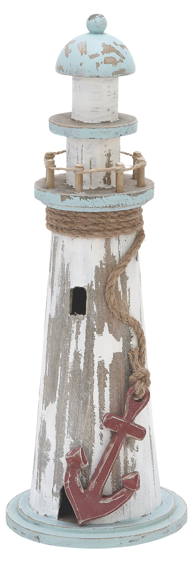 "15"" Wooden Lighthouse"