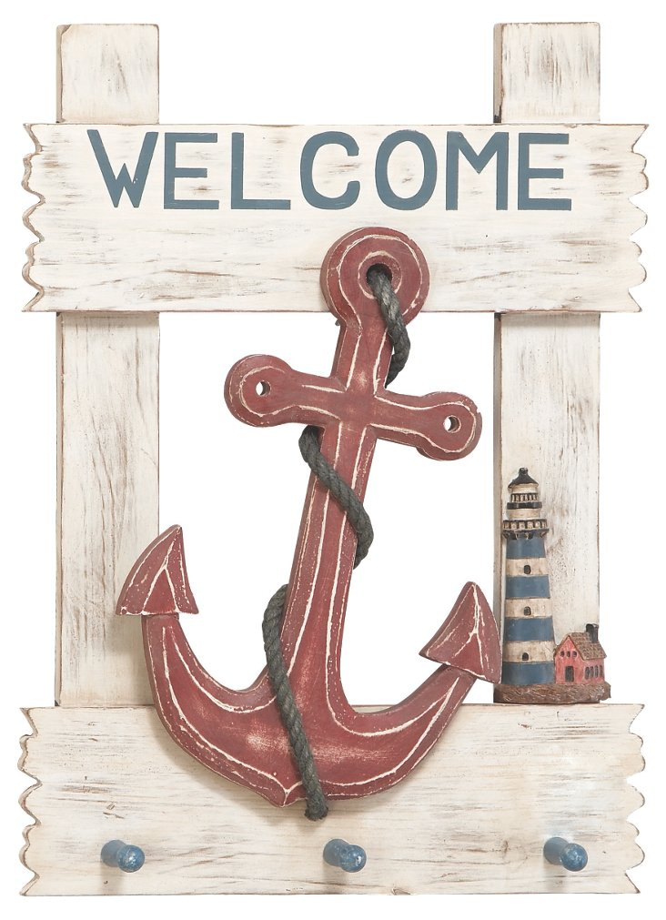 Ahoy Welcome Sign