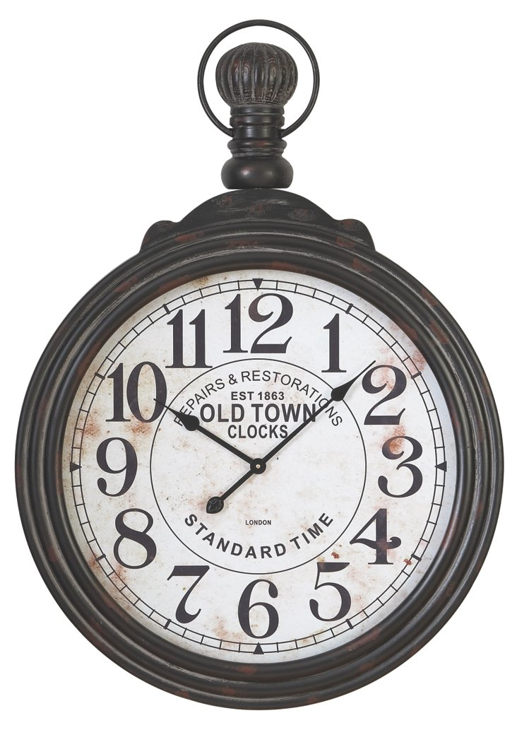 """39"""" Pocket Watch Wall Accent"""