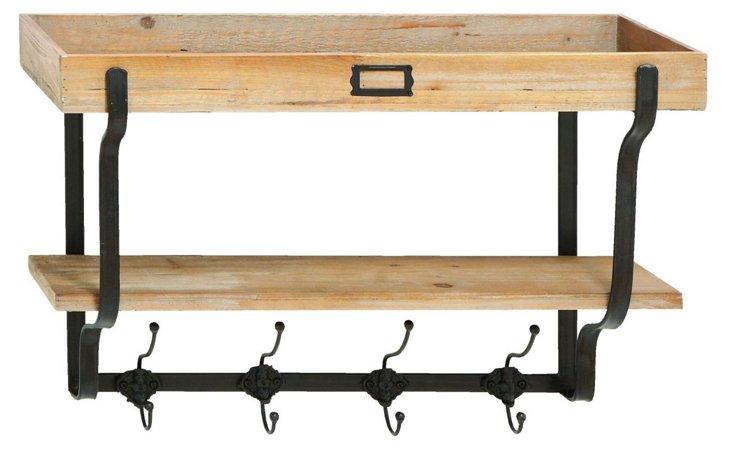 Jameson Wood Wall Shelf