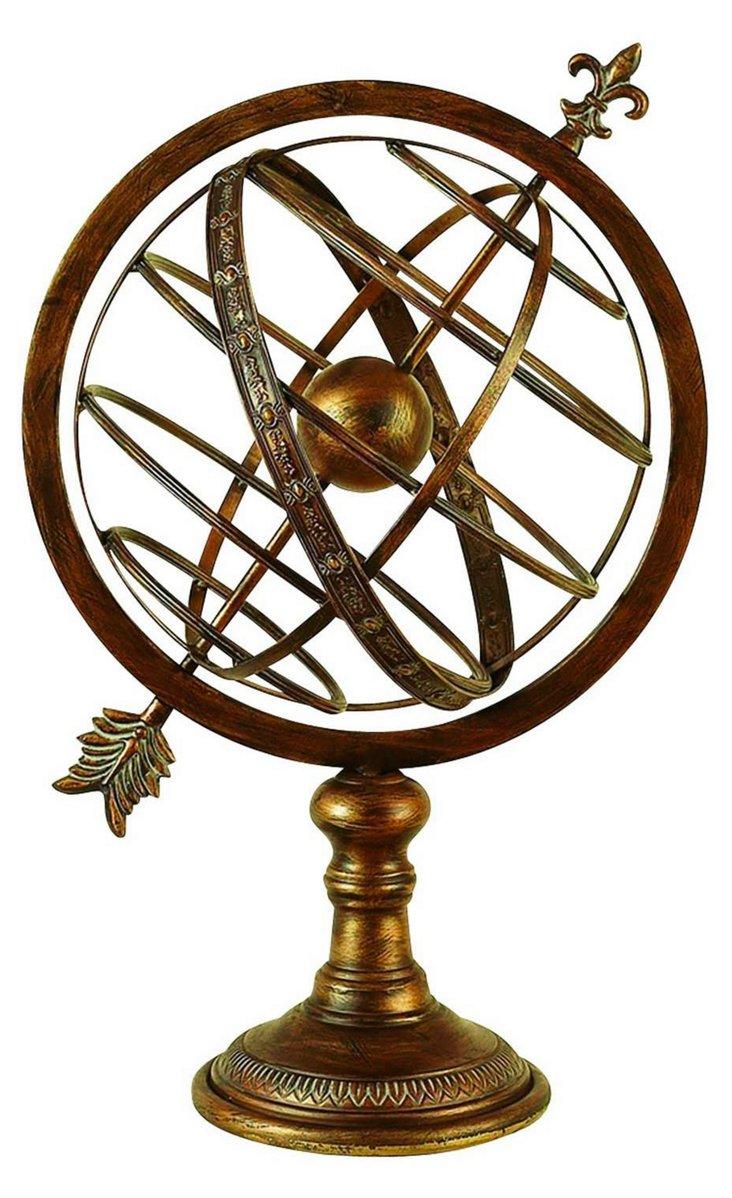 "25"" Armillary Sphere"