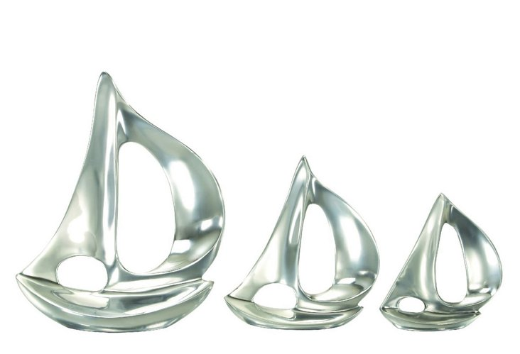 S/3 Deco Boat Objets