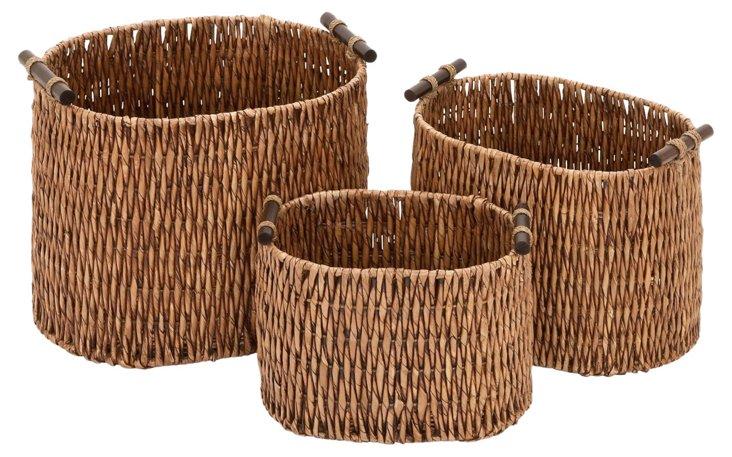 S/3 Rural Baskets