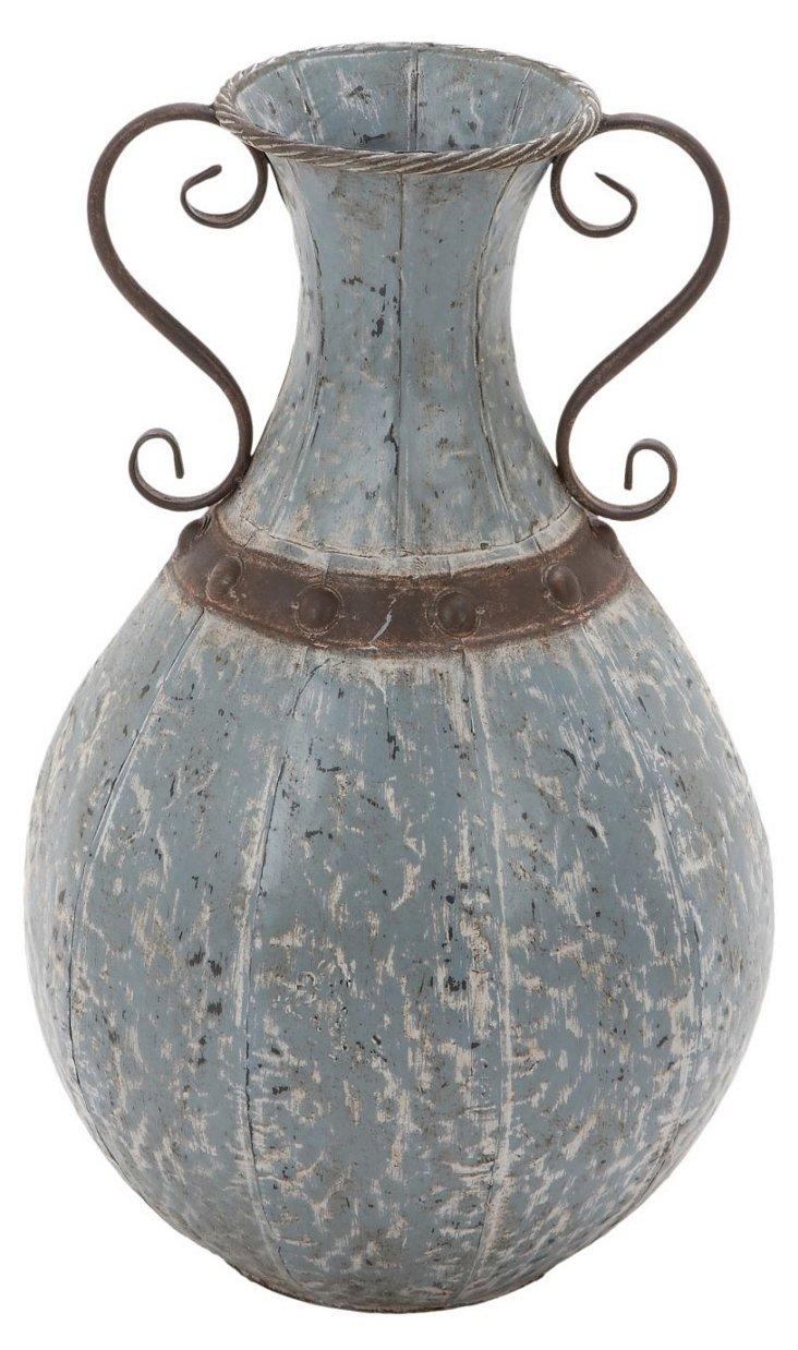 """18"""" Metal Vase"""