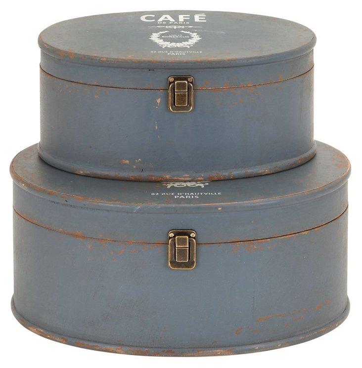 Café Boxes, Asst. of 2