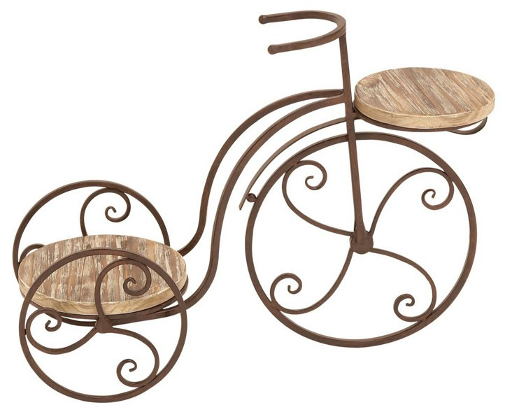 """25"""" Bicycle Plant Stand"""