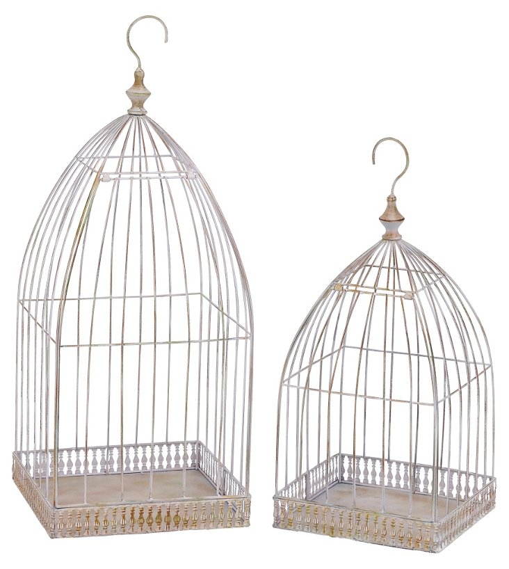 Afternoon Birdcages, Asst. of 2