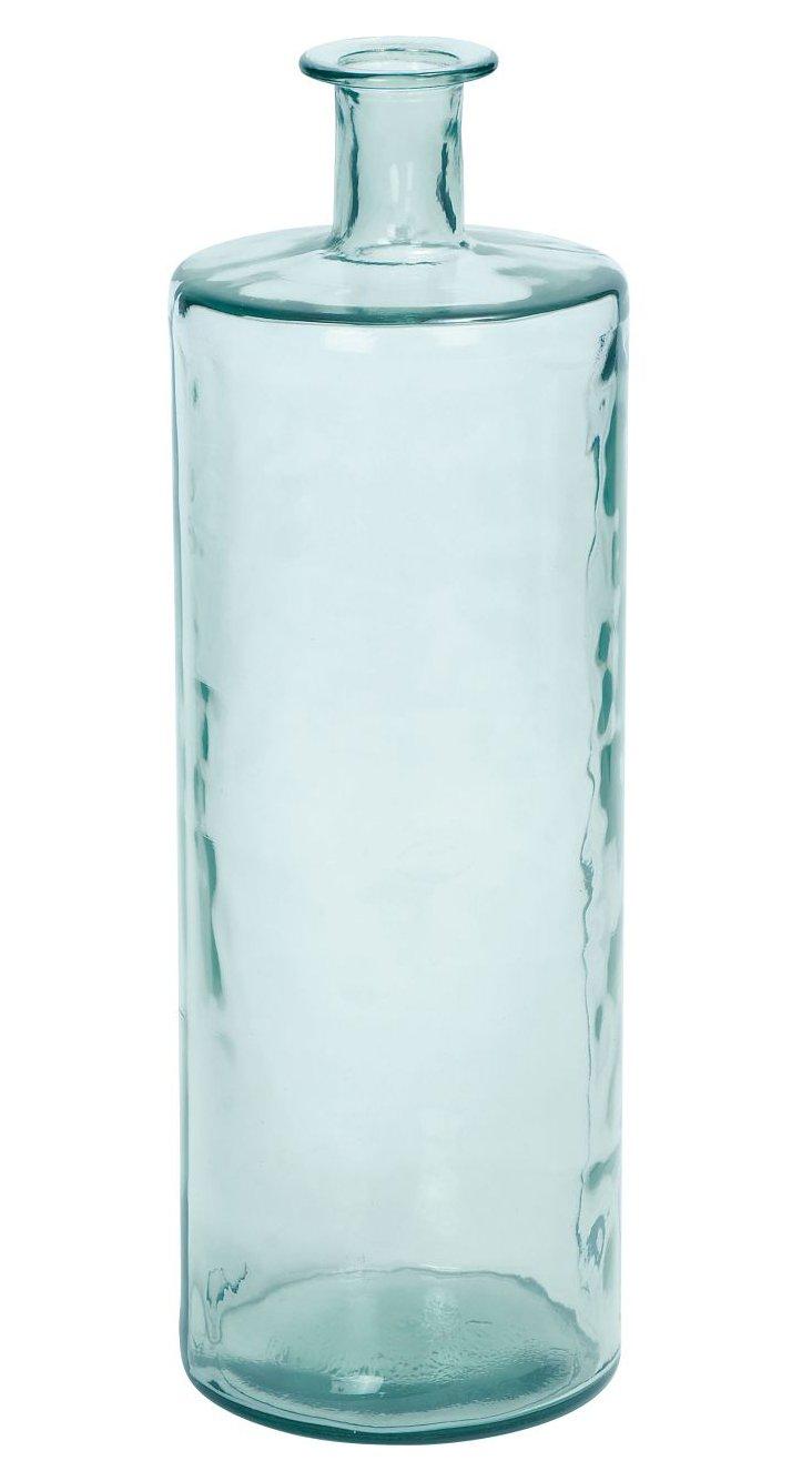 """30"""" Seascape Vase, Blue"""