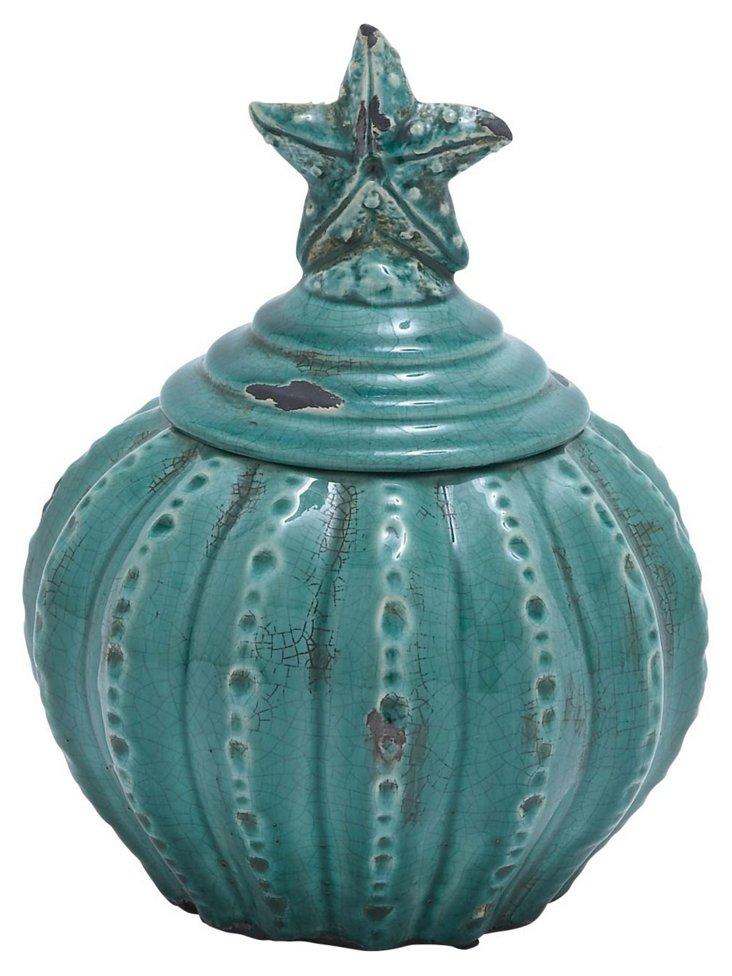 """10"""" Starfish Jar"""