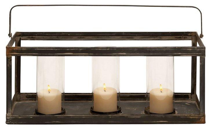 23x13 Industrial Candleholder