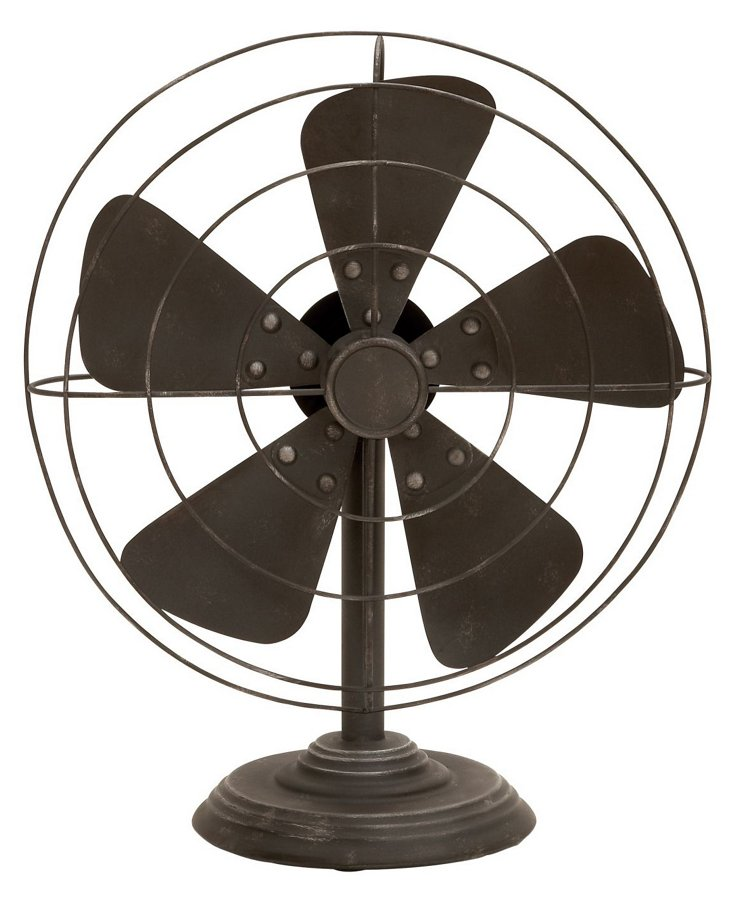 "18"" Brooklyn Fan Objet"