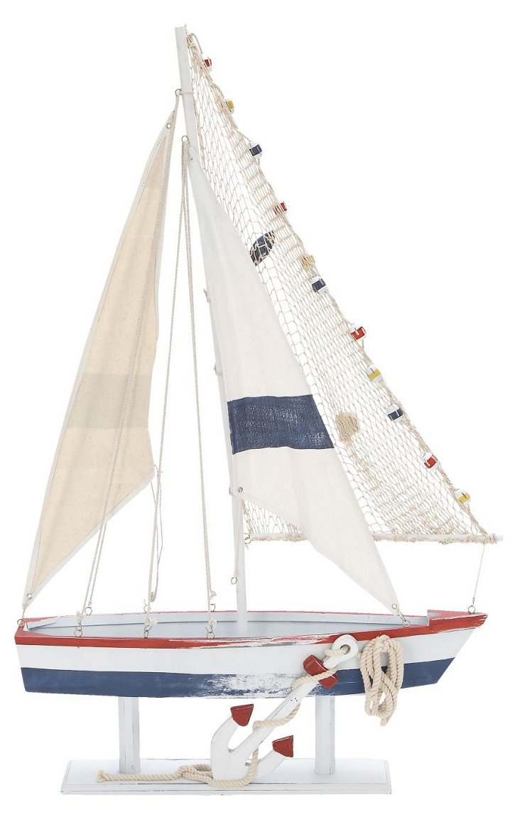 43x27 Brant Point Sail Boat